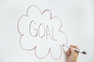 Das Bild zeigt das Ziel als wesentliches Element im Business Coaching.
